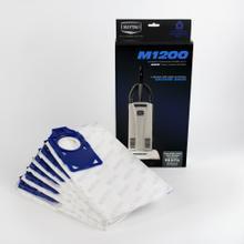 M1200 Self-Sealing HEPA Media Bags (6 Pack)