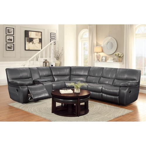 Gallery - 4-Piece Modular Reclining Sectional with Left Console