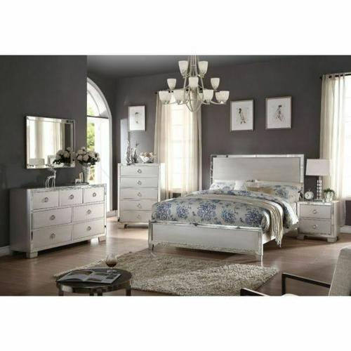 ACME Voeville II California King Bed - 24834CK - Platinum