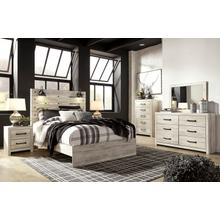 ASHLEY B192-31-36-57-54-96 Cambeck - Whitewash 3-Piece Bedroom Group - Queen Panel Bed, Dresser & Mirror