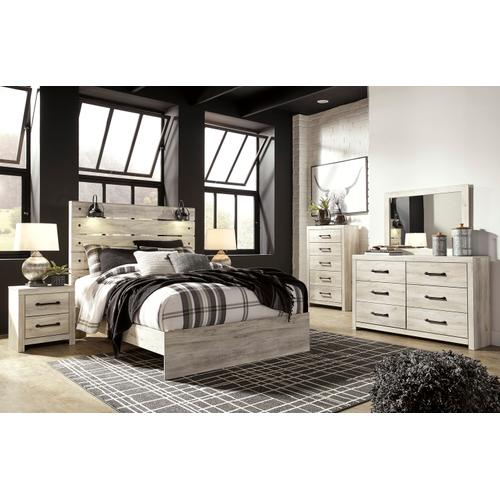 ASHLEY B192-57-54-96 Cambeck - Whitewash Queen Panel Bed