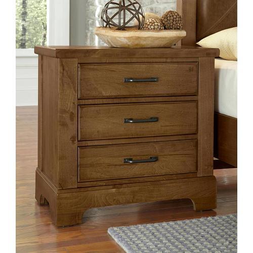 Artisan & Post Solid Wood - Nightstand - 3 Drawers