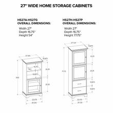 HS27P Custom Home Storage Cabinet
