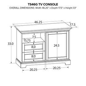 TS46G Custom TV Console