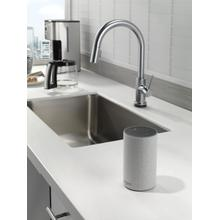 Arctic Stainless VoiceIQ Single-Handle Pull-Down Kitchen Faucet with Touch 2 O ® Technology