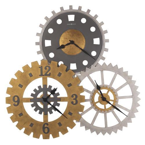 Howard Miller Cogwheel II Oversized Wall Clock 625735
