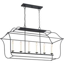 View Product - Gallery Island Chandelier in Royal Ebony