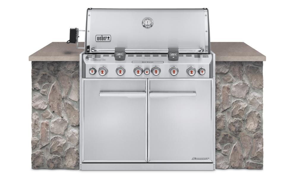 WeberSummit® S-660™ Lp Gas Grill - Stainless Steel