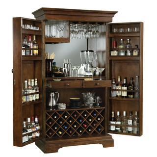 695-065 Sonoma II Wine & Bar Cabinet