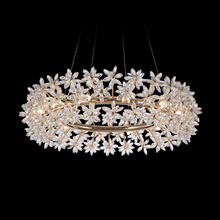 See Details - Bouquet, 12 Light Oblong Chandelier