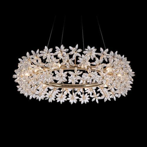 Amini - Bouquet, 12 Light Oblong Chandelier