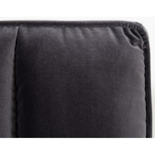 VIG Furniture - Modrest Hemlock Modern Grey Velvet Bed