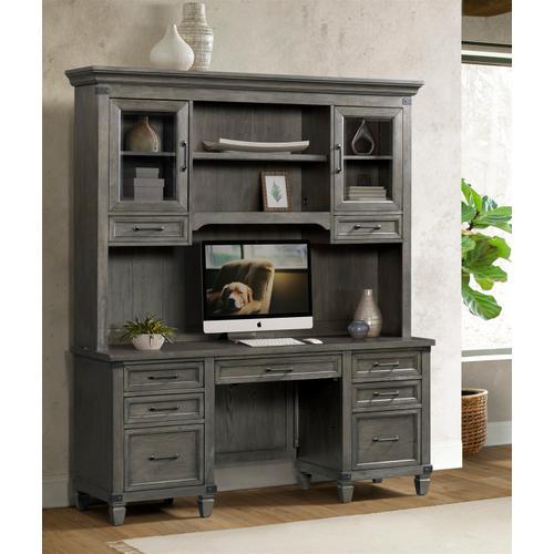 Intercon Furniture - Foundry Credenza Hutch