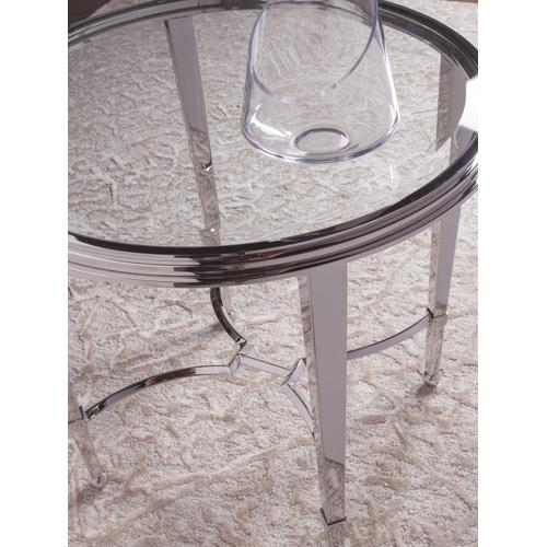 Ss Sangiovese Rnd End Table/Gt