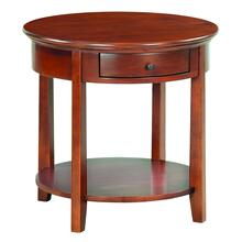 "GAC McKenzie Round End Table (26""D)"
