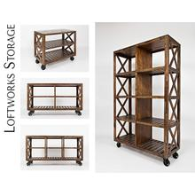 "See Details - Loftworks 36"" Trolley Cart"