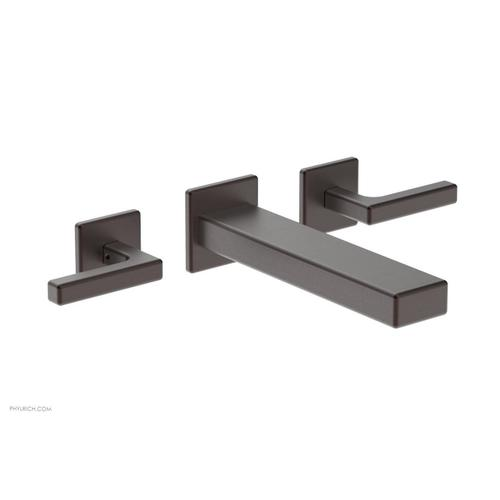 MIX Wall Lavatory Set - Lever Handles 290-12 - Weathered Copper