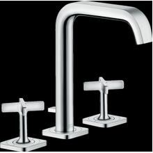 Chrome Widespread Faucet 170 with Pop-Up Drain, 1.2 GPM