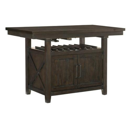 Gallery - Counter Height Table with Storage Base