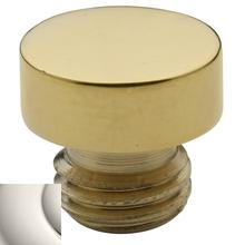Polished Nickel Button Finial