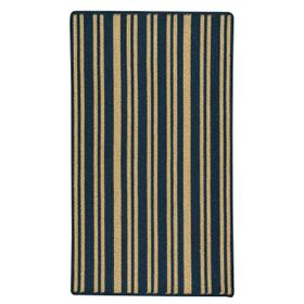 LM-Blue Stripe Navy Braided Rugs