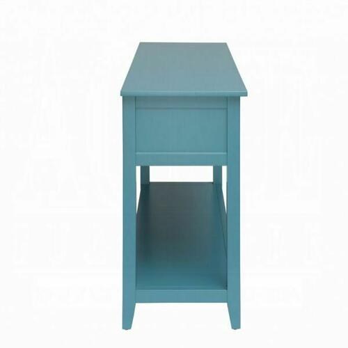 ACME Flavius Console Table - 90266 - Teal