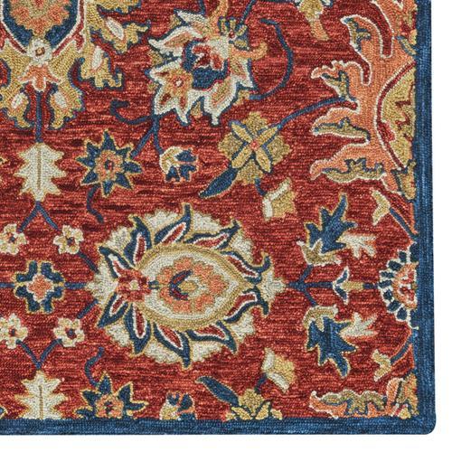 Avanti-Keshan Red Navy Hand Tufted Rugs