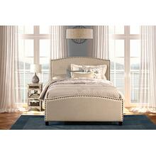 View Product - Kerstein Bed Set - Full - Rails Included - Lt Taupe