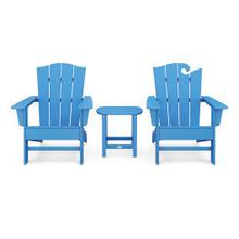 View Product - Wave Collection 3-Piece Set in Pacific Blue