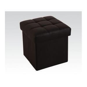 Black Ottoman W/storage