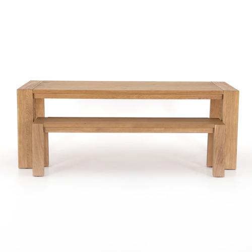 Capra Dining Table-light Oak Resin