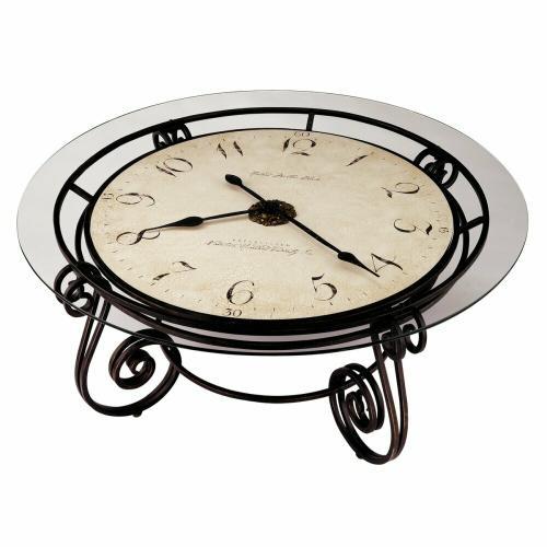 Howard Miller Ravenna Oversized Clock Table 615010