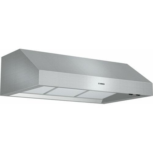 """Bosch - 800 Series, 36"""" Under-cabinet Wall Hood, 600 CFM"""
