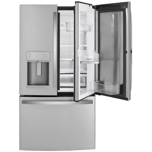 GE Profile™ Series 27.7 Cu. Ft. Fingerprint Resistant French-Door Refrigerator with Door In Door and Hands-Free AutoFill