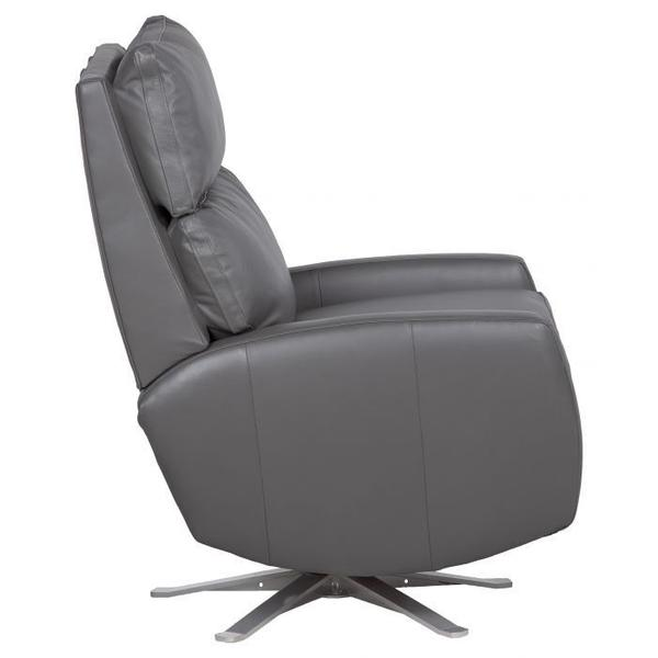 See Details - Aspire Manual Push Back Swivel Recline with Five Prong Base