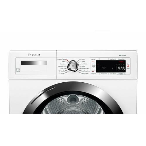 800 Series condenser tumble dryer 24'' WTG865H3UC