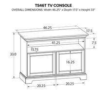 TS46T Custom TV Console