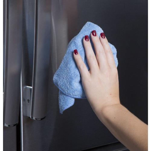 GE Appliances - Stainless Steel Polishing Cloth - 2pk
