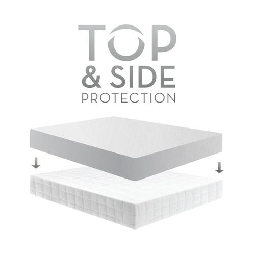 Five 5ided Mattress Protector with Tencel + Omniphase Split Cal King