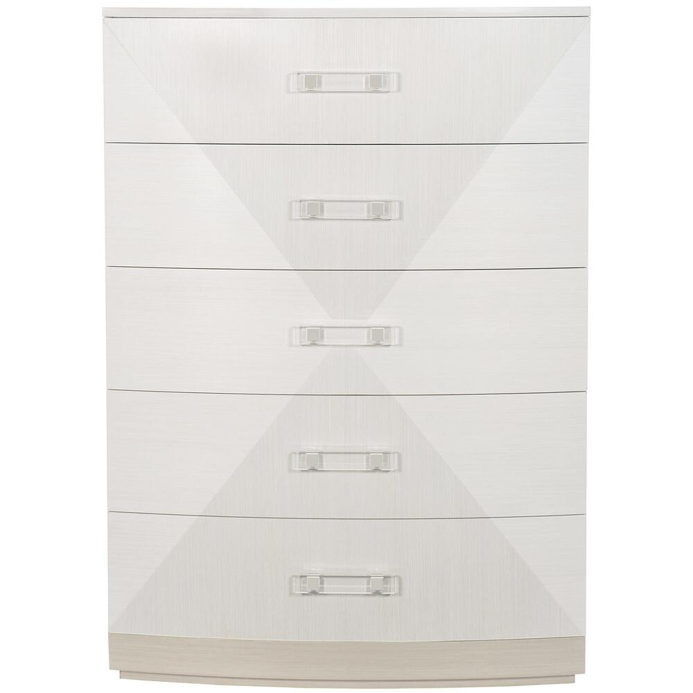 Axiom Tall Chest in Linear Gray (381), Linear White (381)