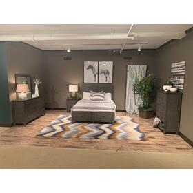 See Details - Maxton 3 Piece Cal King Bedroom Set: Bed, Dresser, Mirror
