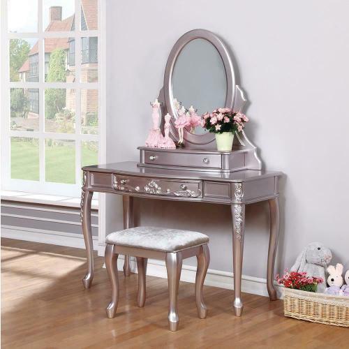 Coaster - Caroline Metallic Lilac Vanity Desk