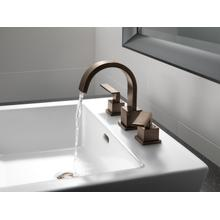 Venetian Bronze Two Handle Widespread Bathroom Faucet
