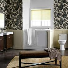 Acrylic Luxury Series 30x51 Left Drain Walk-in Bathtub with Air Spa System  American Standard - White