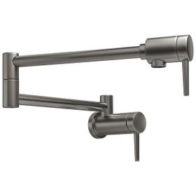Black Stainless Contemporary Pot Filler