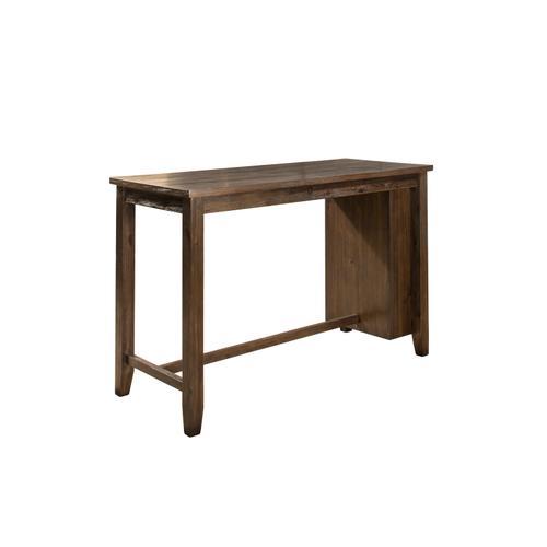 Spencer Counter Height Table - Kd - Dark Espresso (wirebrush)