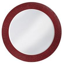View Product - Bergman Mirror - Glossy Burgundy