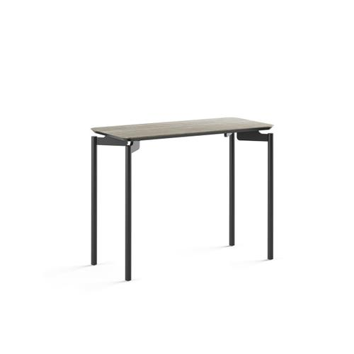 1733 Rectangular End Table BDI in Concreta