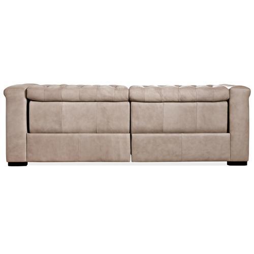 Hooker Furniture - Savion 1.5 LAF/RAF 2 over 2 Sofa w/ PWR Rec PWR HR