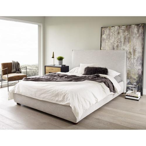 Moe's Home Collection - Luzon Queen Bed Light Grey